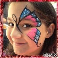 Maquillage Aile de Papillon