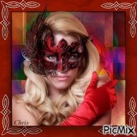 La dame au masque
