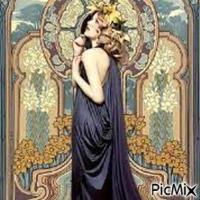 Belle Robe Art Déco