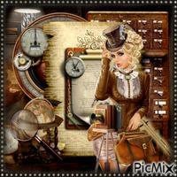 Steampunk Frau - Wettbewerb