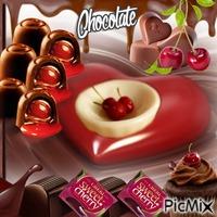 Chocolate And Cherries
