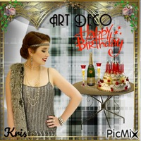 Birthday Artdeco