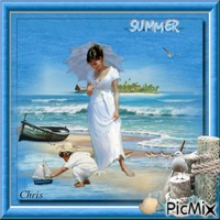 L'été a la plage