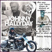 Disque de diamant ! Johnny Hallyday