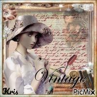 je t'écrirai /vintage/❤️🌼