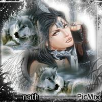 L'ange guerrier des loups,concours