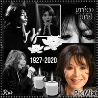 Homage Juliette Gréco