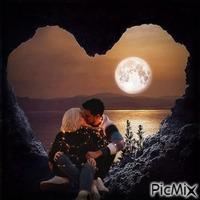 novios bajo la luna