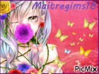 Manga butterfly