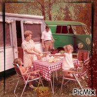 Familie in den 60/70 gern