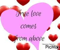 True love comes from above