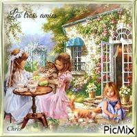 Lily,Caroline et julie