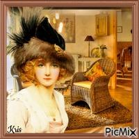 femme vintage  🌺 🌻