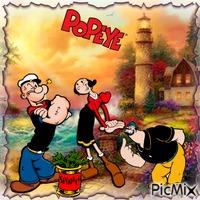 Olivia & Popeye