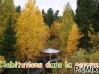 """Habitations dans la nature"""