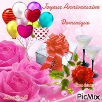 Joyeux anniversaire Dominique