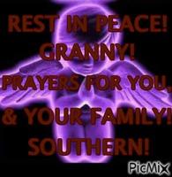 REST IN PEACE GRANNY