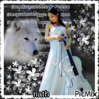 La violoniste et le loup