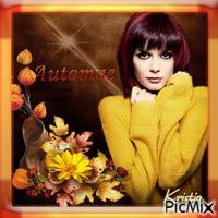 dziewczyna jesieni