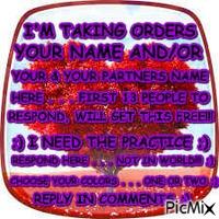 PRACTICE ADDING NAMES
