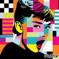 Audrey Hepburn -Art