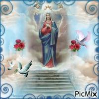 Vierge Marie.