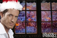 navidad ventana