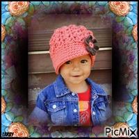 Portrait de fillette - Style Gavroche !!!!