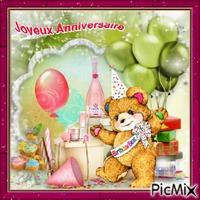 Joyeux Anniversaire / Happy Birthday