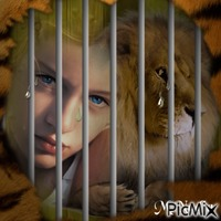 je suis contre les animaux en cage