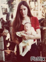 My son and I in California 1975