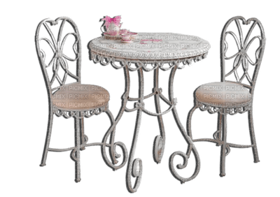 Kaz_Creations Table Chairs Deco Cup Cakes