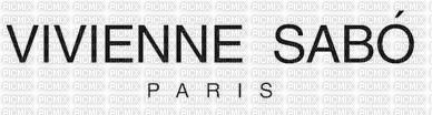 sticker Vivienne Sabo Paris,text,logo, Orabel