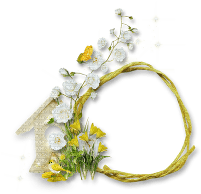 Cleo-cadre-fleurs -blanc