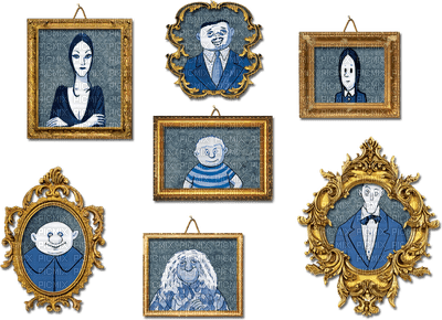 The Addams Family - portrait