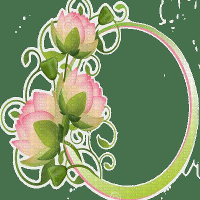 lotus flower frame nénuphar cadre