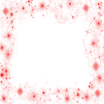 red stars dust frame