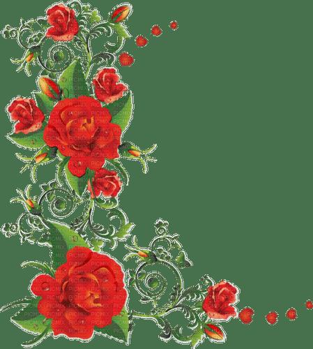 red roses border 🌹rouge rose bordure