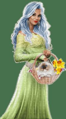 Kaz_Creations Colour Girls Flowers Flower  Cat Kitten