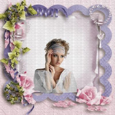 image encre couleur effet femme fleurs roses pastel edited by me