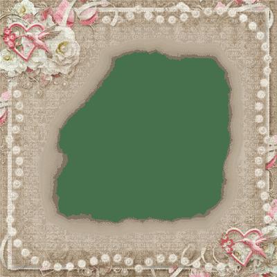 frame cadre rahmen  deco tube satin fond background overlay filter effect pink pearls vintage