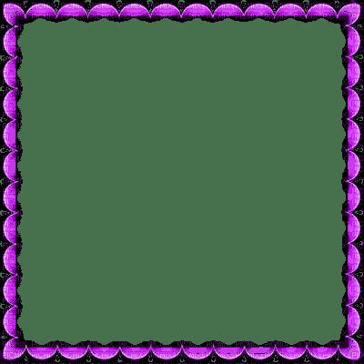 purple frame cadre violet