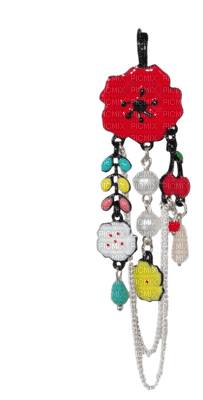 Kaz_Creations Jewellery Poppy Earrings