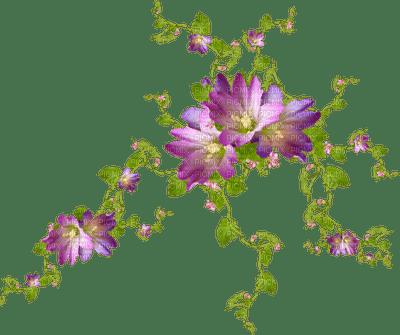 pink fleurs deco flowers pink purple