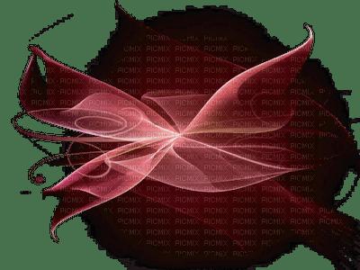 grafisme fractale red brown