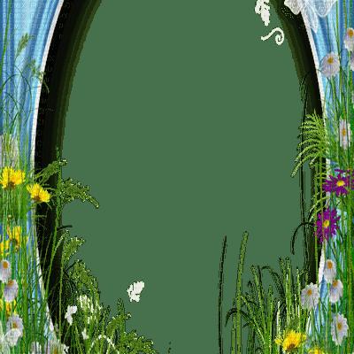spring flower frame border printemps cadre fleur bordure