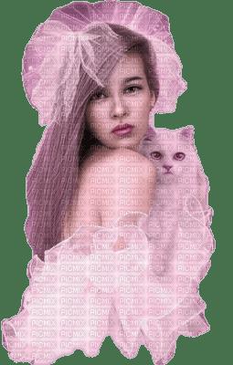 Kaz_Creations Woman Femme Pink Cat Kitten