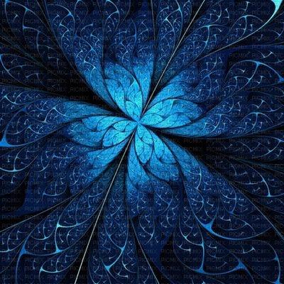 bg-blue-leaves