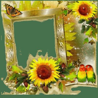 autumn sunflower frame - Sunflower Picture Frames