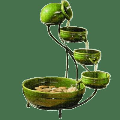 ZEN_deco_Tube_decoratin_oriental_ckinese-asian-vert-green-fontaine__Blue DREAM 70